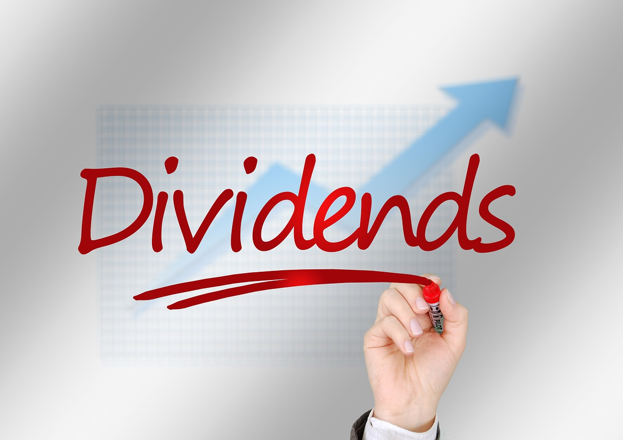Dividend and Franking Credits Whiteboard Graphic